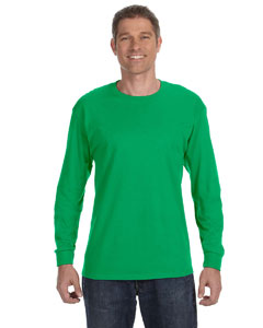 Irish Green Heavy Cotton™ 5.3 oz. Long-Sleeve T-Shirt