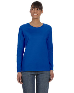 Royal Ladies' Heavy Cotton™ 5.3 oz. Long-Sleeve T-Shirt
