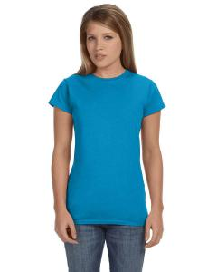 Sapphire Women's 4.5 oz SoftStyle® Junior Fit T-Shirt