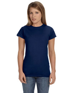Navy Women's 4.5 oz SoftStyle® Junior Fit T-Shirt