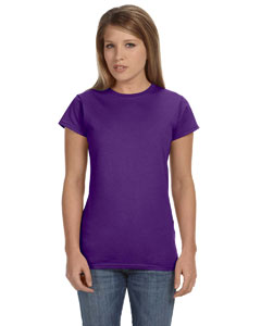 Purple Women's 4.5 oz SoftStyle® Junior Fit T-Shirt