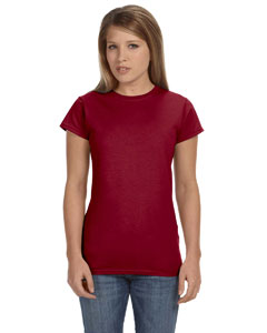 Antque Cherry Red Women's 4.5 oz SoftStyle® Junior Fit T-Shirt