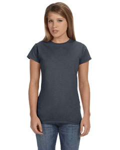 Dark Heather Women's 4.5 oz SoftStyle® Junior Fit T-Shirt