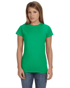 Irish Green Women's 4.5 oz SoftStyle® Junior Fit T-Shirt