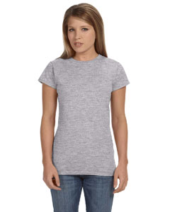 Sport Grey Women's 4.5 oz SoftStyle® Junior Fit T-Shirt