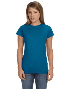 Antque Sapphire Women's 4.5 oz SoftStyle® Junior Fit T-Shirt