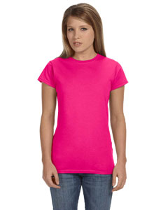 Antque Heliconia Women's 4.5 oz SoftStyle® Junior Fit T-Shirt