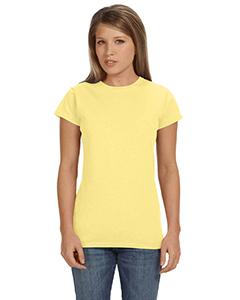 Cornsilk Women's 4.5 oz SoftStyle® Junior Fit T-Shirt