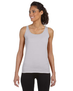 Sport Grey Women's 4.5 oz. SoftStyle® Junior Fit Tank Top