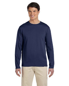 Navy Softstyle® 4.5 oz. Long-Sleeve T-Shirt