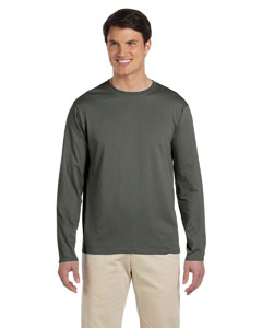 Military Green Softstyle® 4.5 oz. Long-Sleeve T-Shirt