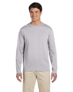 Sport Grey Softstyle® 4.5 oz. Long-Sleeve T-Shirt