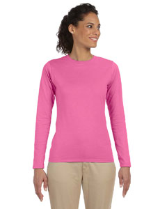Azalea Women's 4.5 oz. SoftStyle Junior Fit Long-Sleeve T-Shirt