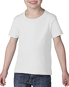 White Toddler Softstyle® 4.5 oz. T-Shirt