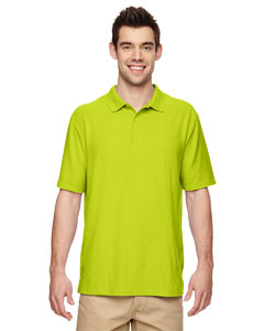 Safety Green DryBlend® 6.3 oz. Double Piqué Sport Shirt