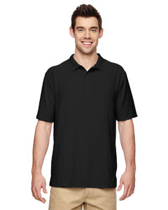 Black DryBlend® 6.3 oz. Double Piqué Sport Shirt