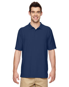 Navy DryBlend® 6.3 oz. Double Piqué Sport Shirt
