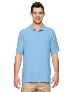 Light Blue DryBlend® 6.3 oz. Double Piqué Sport Shirt