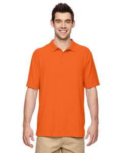 Safety Orange DryBlend® 6.3 oz. Double Piqué Sport Shirt