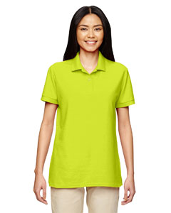 Safety Green DryBlend® Ladies' 6.3 oz. Double Piqué Sport Shirt