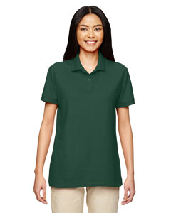 Forest Green DryBlend® Ladies' 6.3 oz. Double Piqué Sport Shirt