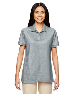 Sport Grey DryBlend® Ladies' 6.3 oz. Double Piqué Sport Shirt