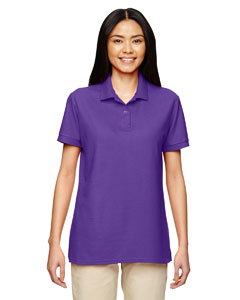 Purple DryBlend® Ladies' 6.3 oz. Double Piqué Sport Shirt