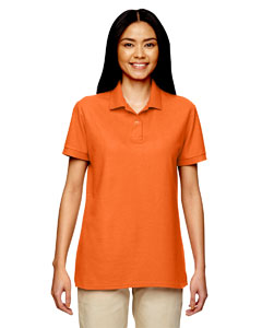 Safety Orange DryBlend® Ladies' 6.3 oz. Double Piqué Sport Shirt