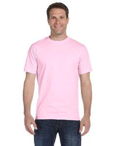 Light Pink Adult Unisex 5.5 oz., 50/50 T-Shirt