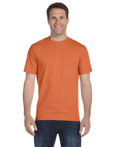 Texas Orange Adult Unisex 5.5 oz., 50/50 T-Shirt