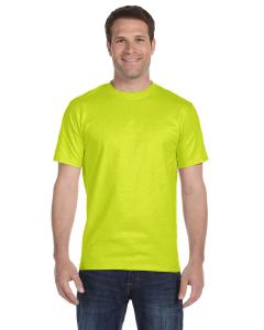 Safety Green Adult Unisex 5.5 oz., 50/50 T-Shirt