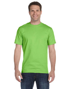 Lime Adult Unisex 5.5 oz., 50/50 T-Shirt