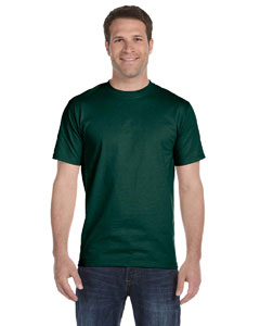 Forest Green Adult Unisex 5.5 oz., 50/50 T-Shirt