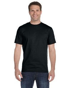 Black Adult Unisex 5.5 oz., 50/50 T-Shirt