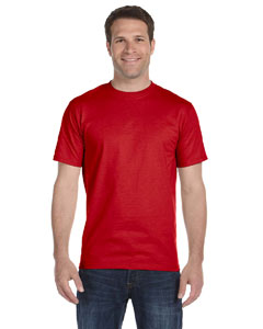 Red Adult Unisex 5.5 oz., 50/50 T-Shirt
