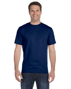 Navy Adult Unisex 5.5 oz., 50/50 T-Shirt