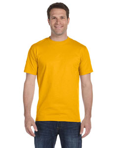 Gold Adult Unisex 5.5 oz., 50/50 T-Shirt