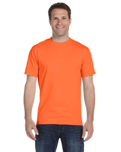 Orange Adult Unisex 5.5 oz., 50/50 T-Shirt