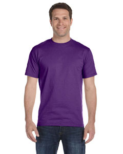 Purple Adult Unisex 5.5 oz., 50/50 T-Shirt