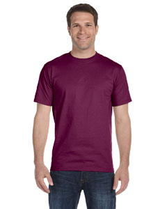 Maroon Adult Unisex 5.5 oz., 50/50 T-Shirt