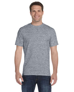 Dark Heather DryBlend® 5.6 oz., 50/50 T-Shirt