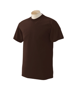 Dark Chocolate Adult Unisex 5.5 oz., 50/50 T-Shirt