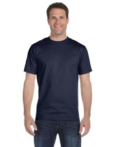 Sport Dark Navy Adult Unisex 5.5 oz., 50/50 T-Shirt