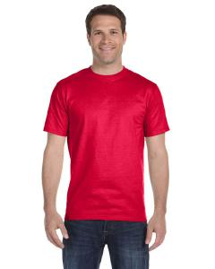Sprt Scarlet Red Adult Unisex 5.5 oz., 50/50 T-Shirt