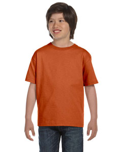 Texas Orange DryBlend®  Youth 5.6 oz., 50/50 T-Shirt