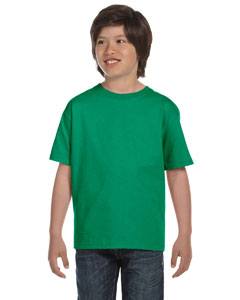 Kelly Green DryBlend®  Youth 5.6 oz., 50/50 T-Shirt