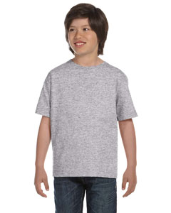 Sport Grey DryBlend®  Youth 5.6 oz., 50/50 T-Shirt
