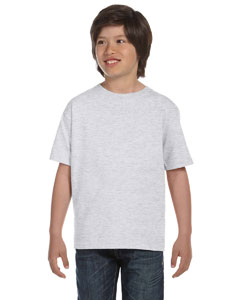 Ash Grey DryBlend®  Youth 5.6 oz., 50/50 T-Shirt
