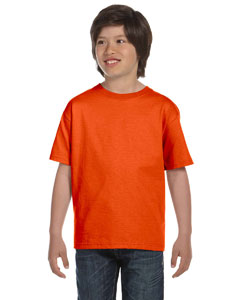 Orange DryBlend®  Youth 5.6 oz., 50/50 T-Shirt