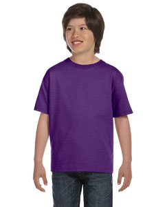 Purple DryBlend®  Youth 5.6 oz., 50/50 T-Shirt